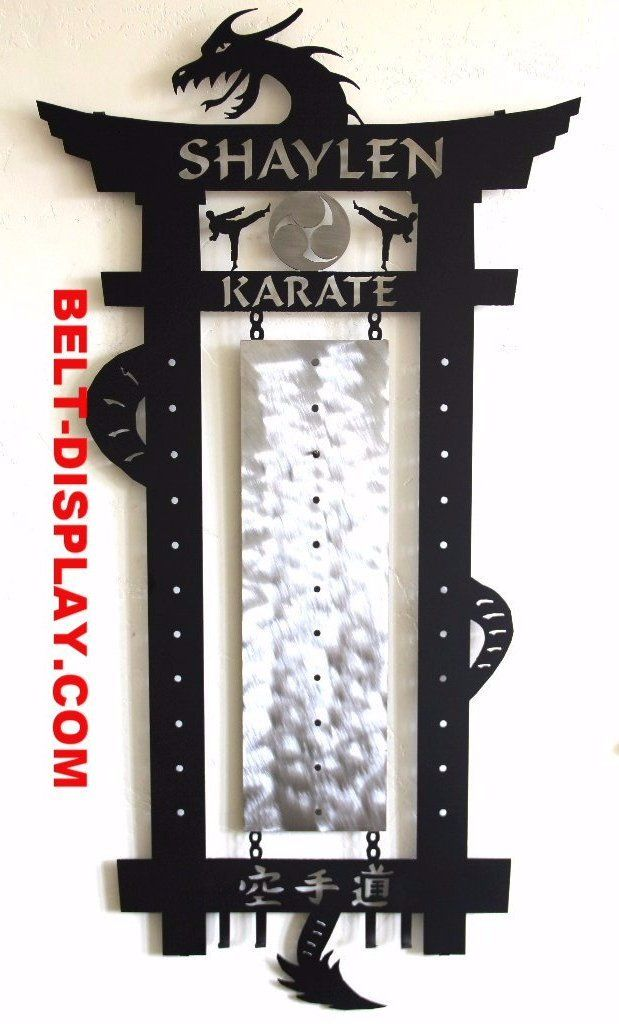 Karate Belt Display: Martial Arts Belt Display Rack: – Best on the Planet: Karate Belt Display: Martial Arts Belt Displays
