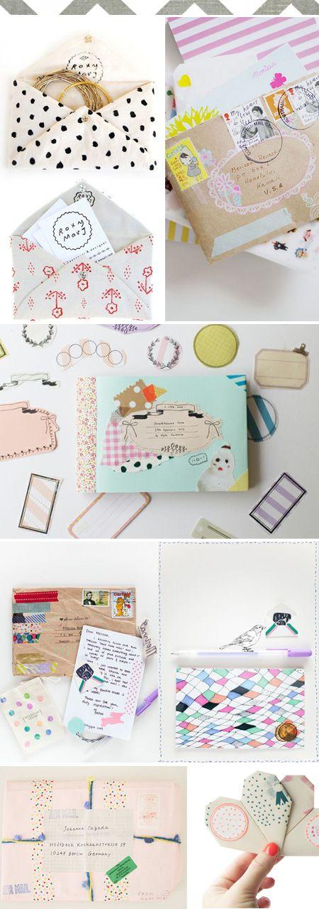 #mailfun #mail #correo #post #sobre #creative #letters #cartas #envelope #letter #card #idea #inspiration #love #nice #cute #fun #colorful