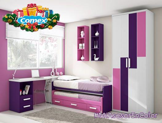 Introvertido y relajante son los espacios que crean dos colores que estan de moda, hablamos de el color lila y malva