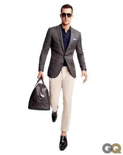 Ashley weston chino pants sport coat polo shirt men 39 s for Polo shirt with sport coat