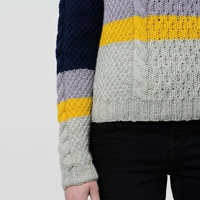 ~ NEW: ÆRØ SWEATER ~ We present a new model - Ærø Sweater. The technique is cable knit, as we know it from the classic Irish sweater. The cables are combined with stripes, so the look is new and modern 😊  Design: @judithklingenfeld and @rachelsoegaard Knit: @monajust67  #ærøsweater #ærøbluse #newcollection #new #aw17 #cableknit #cables #kabelstrik #highland #wool #uld #knitting #knit #strik #knitwear #kitcouture #kitcouturecph