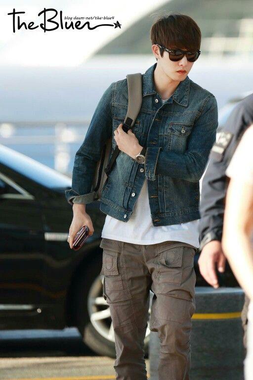 Lee jonghyun ~ airport to Hongkong - FNC Kingdom ❤❤