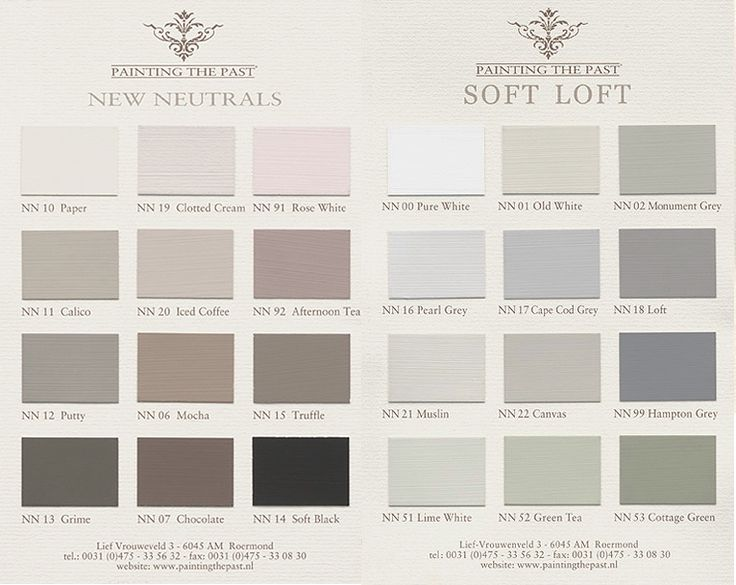 New Neutrals and Soft Loft Colours