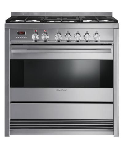 OR90SDBGFX3 - Fisher & Paykel 100L 90cm Freestanding Dual Fuel Cooker - 80866 $3,800