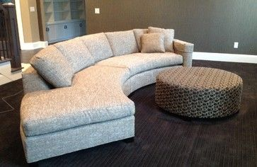 Custom Furniture Pieces Designed by Alexis Designs eclectic sectional sofas