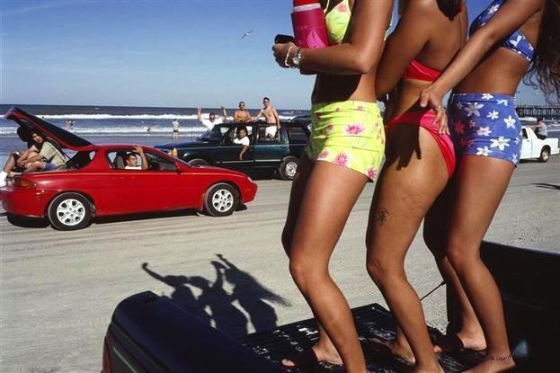 Constantine Manos USA. 1997. Daytona Beach, Florida.