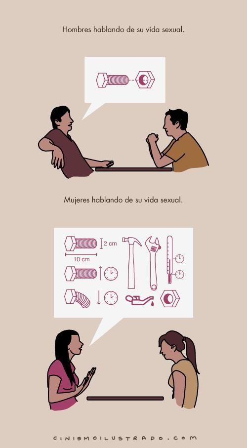 vida sexual hombres vs mujeres