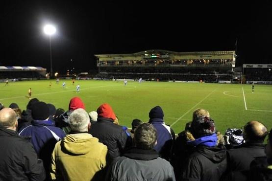 Bristol Rovers v Barnet won 2-1 8500+ at The Mem.