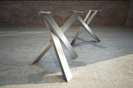 Stahl Tischuntergestell Steel-Knots