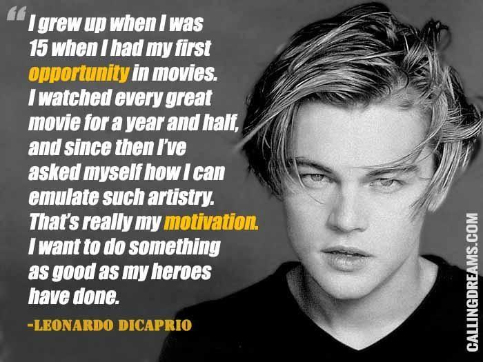 8 Iconic Quotes By Leonardo DiCaprio