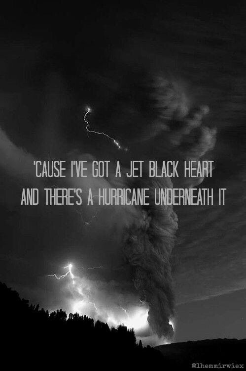 cause i've got a jet black heart - Google Search