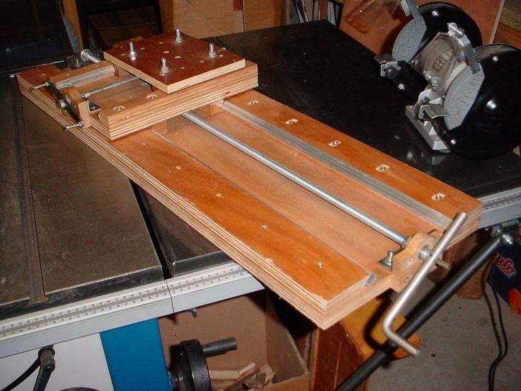 Cross Slides Grinder Support Wooden Made Milling