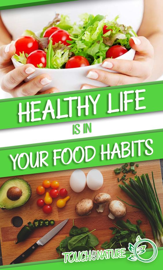 Healthy Life Is In Your Food Habits