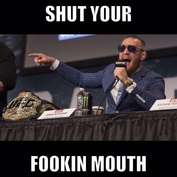 Fawkin Yea Mcgregor You Tell Em Conor Mcgregor Quotes Conor Mcgregor Funny Mcgregor Meme