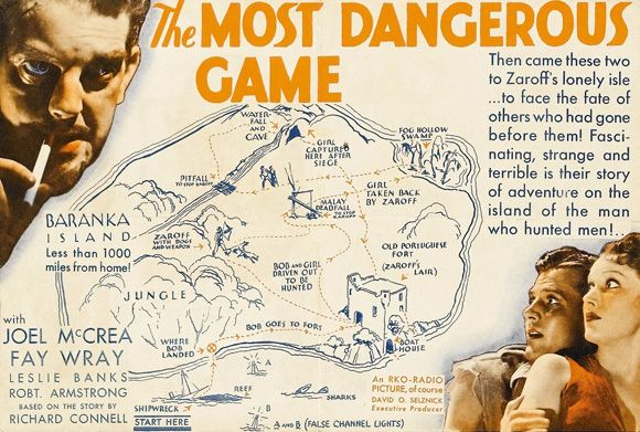 """Full text of """"The Most Dangerous Game""""  https://archive.org/stream/TheMostDangerousGame_129/danger.txt"""