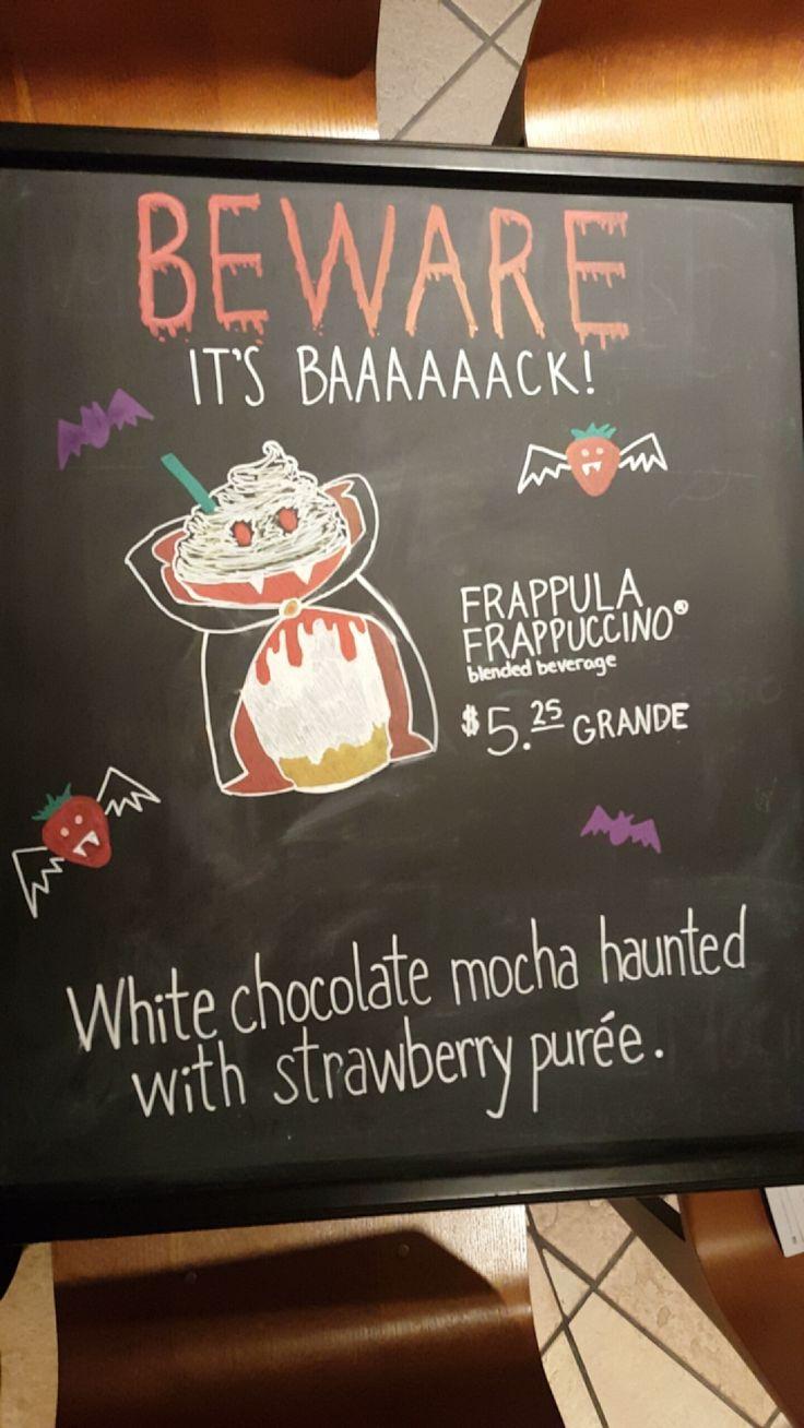 Frappula signing in lol starbucks coffee love