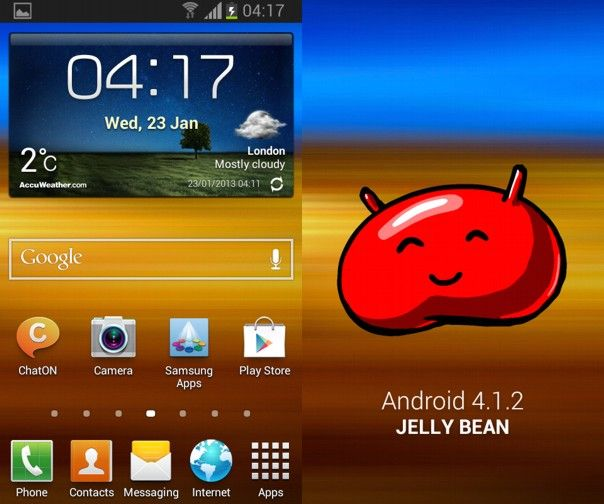 Samsung ya empezó a liberar la actualización de Android 4.1.2 Jelly Bean para el Galaxy SII (GT-I9100), por lo que pronto estará disponible en diferentes partes del mundo.