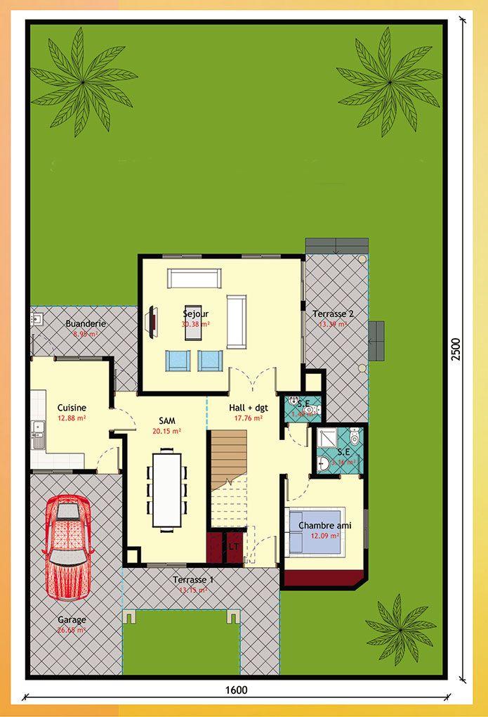 18 best plan maison images on Pinterest Home ideas, Architecture