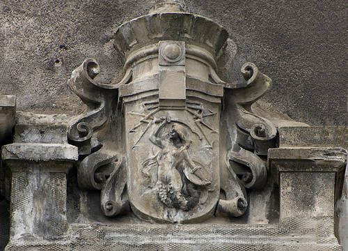 """Warszawska Syrenka"" The mermaid, or syrenka, is the symbol of Warsaw. Images of a mermaid symbolized Warsaw on its crest since the middle of the 14th century."