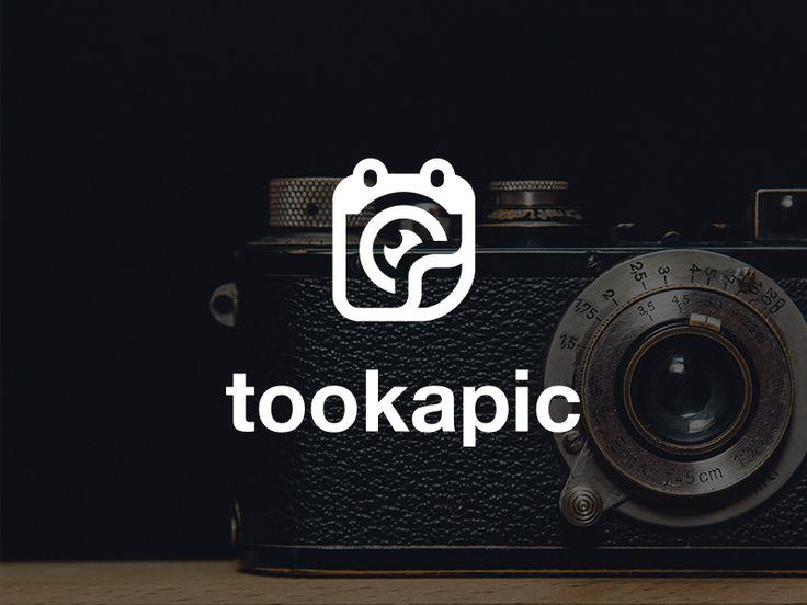 Tookapic logo by Michal Kulesza #logotype #logo #brand #identity