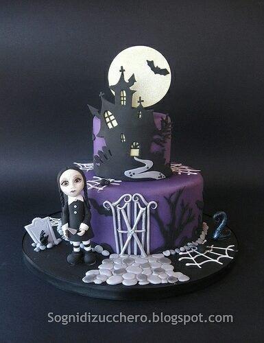 61 best Halloween inspiration images on Pinterest Halloween cakes - halloween birthday cake ideas