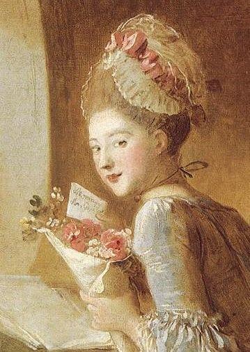 1770s (FRAGONARD, Jean-Honoré) The Love Letters