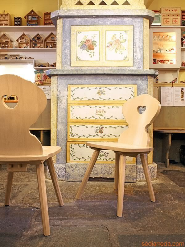 Romantic chairs for two