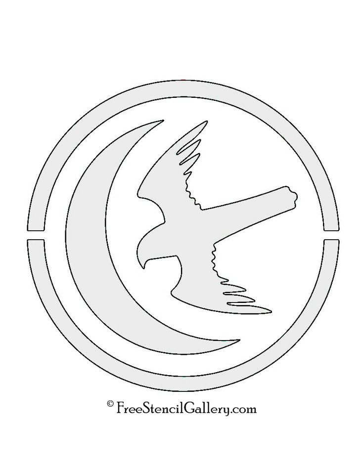 107 best stencils images on pinterest pyrography silhouettes game of thrones house arryn sigil stencil pronofoot35fo Images