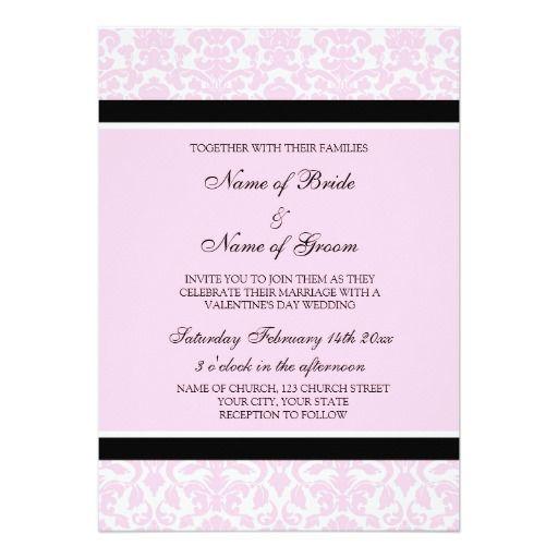 Best Valentines Wedding Invitations Images On