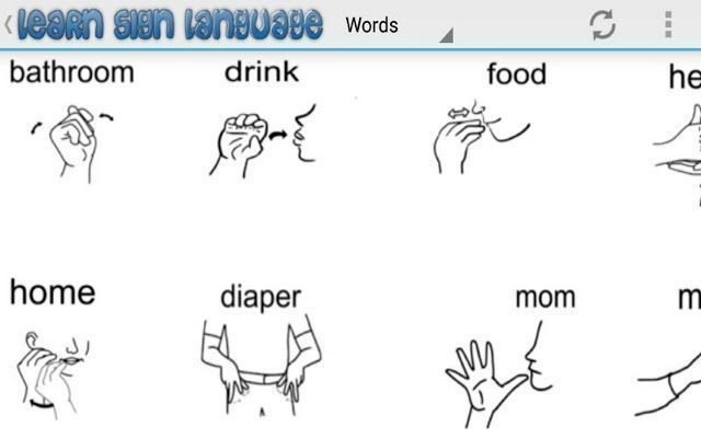 picture relating to Sign Language Phrases Printable named Signal Language Assistance Indicator language for rookies assists oneself