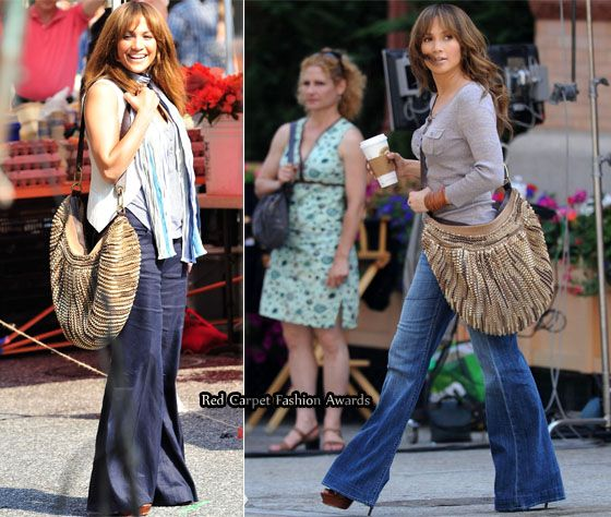 """J Lo's handbag from """"The Back-up Plan."""" Couldn't even concentrate on the movie plot ... just kept staring and drooling over the bag."""