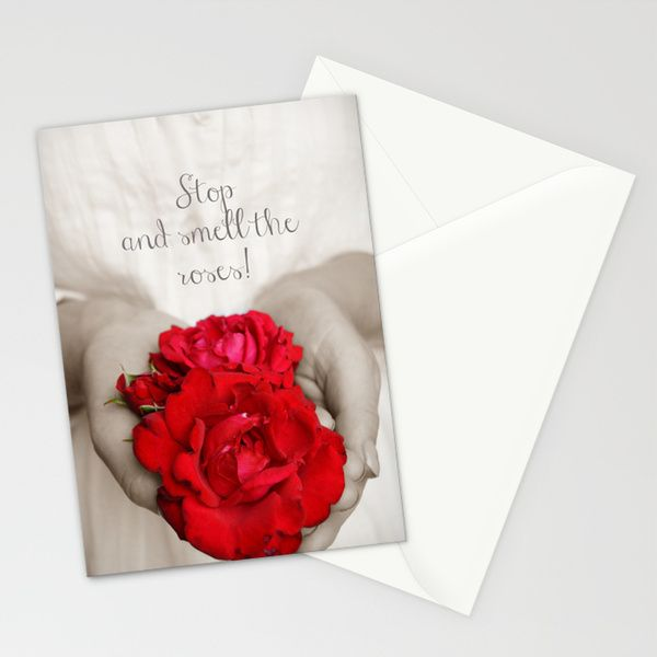 Stop and smell the roses! Stationery Cards from FloraInspiro SHOP http://shop.florainspiro.com photo by Emelie Ekborg