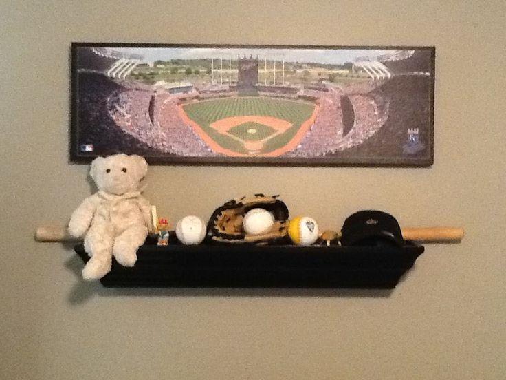 Baseball Nursery Kansas City Royals Stadium Photo Baby Room Boys