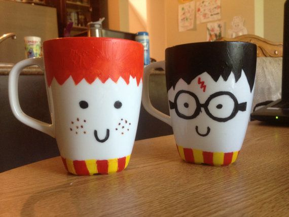 Hey, I found this really awesome Etsy listing at https://www.etsy.com/listing/161816627/harry-potter-fan-mugs