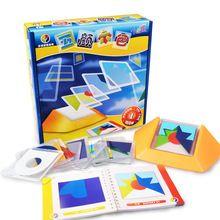 100 Вызов Цветовой Код Игры Головоломки Tangram Головоломки Доска Головоломки Игрушки Дети Детям Развивать Логику Пространственное мышление Навыки Игрушки(China (Mainland))