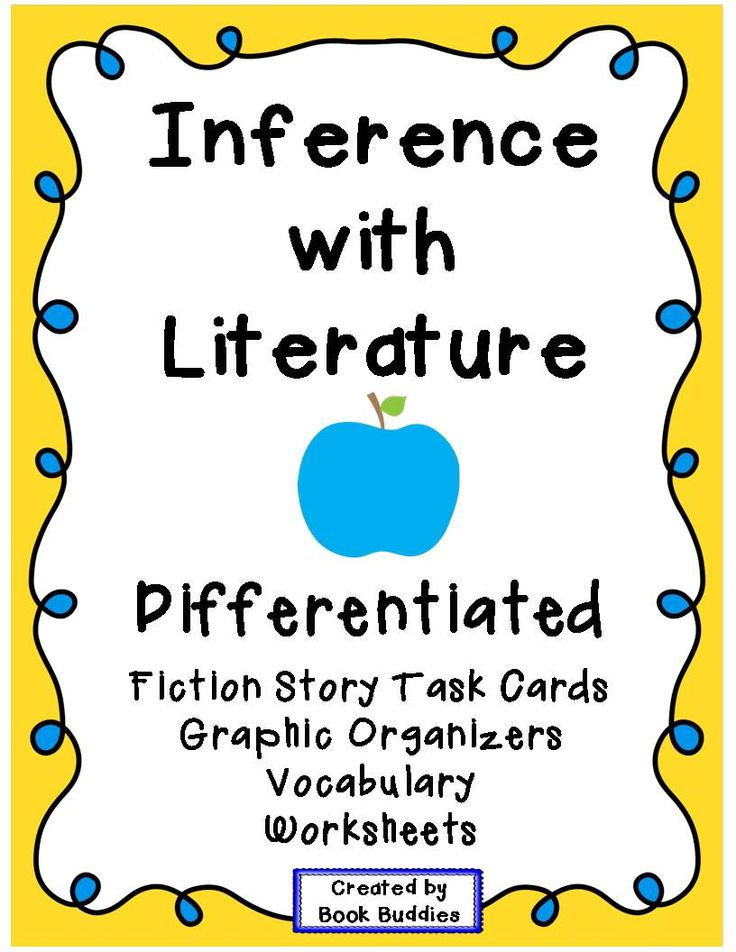 1000+ images about Inference 4th grade on Pinterest | Anchor charts ...