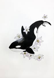 Image result for orca tattoo ankle