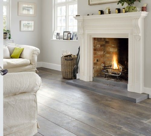 "Highland Manor Patina, 11"" Engineered Oak Floor - The Reclaimed Flooring Company"