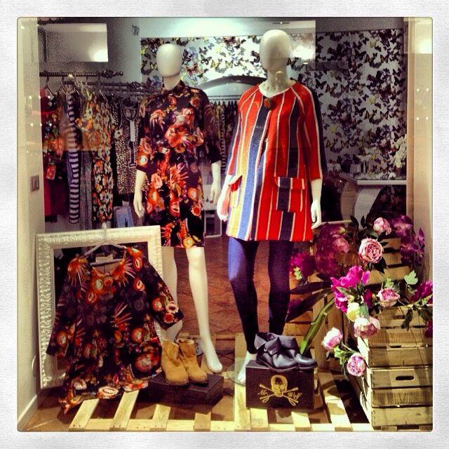 #shirtaporter SS14 shop window