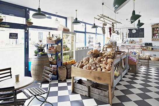 London's Quickest & Tastiest Breakfast Joints #refinery29  http://www.refinery29.com/delicious-fast-breakfasts#slide13  De Beauvoir Deli  A deli that serves Biegel Bake bagels. That's all you really need to know, isn't it? Where: De Beauvoir Deli, 98 Southgate Road, London, N1 3JD.