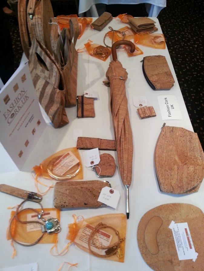 Innovative Cork products on Display at #L4GExpo in Harrow! #L4G