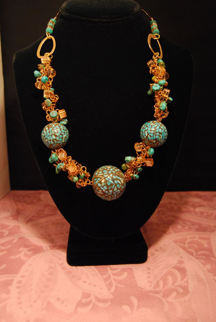 Twisted Turquoise Dream