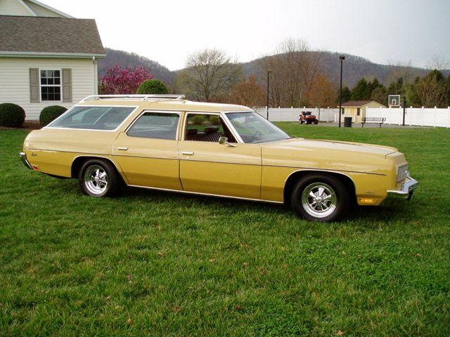 e0297eb40e 1973 Chevrolet Impala Station Wagon....ready for the drive in ...