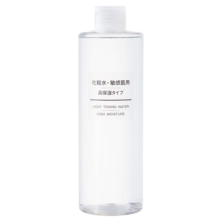 化粧水・敏感肌用・高保湿タイプ(大容量) 400ml | 無印良品ネットストア
