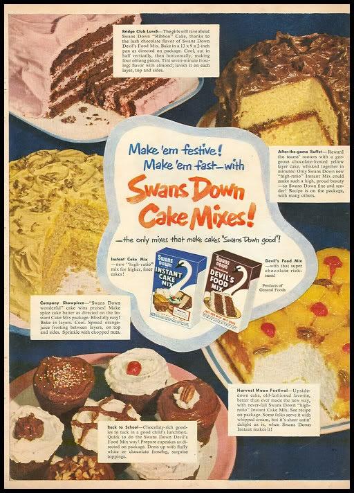 Swan's Down Cake Mixes