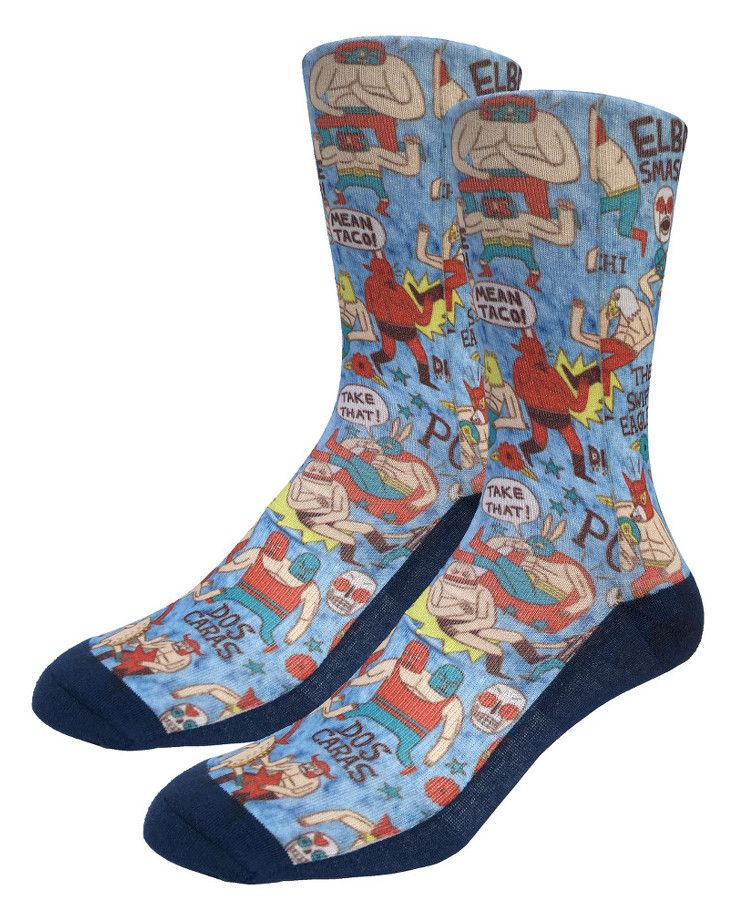 Lucha Libre | Good Luck Sock | goodlucksock.com #socks