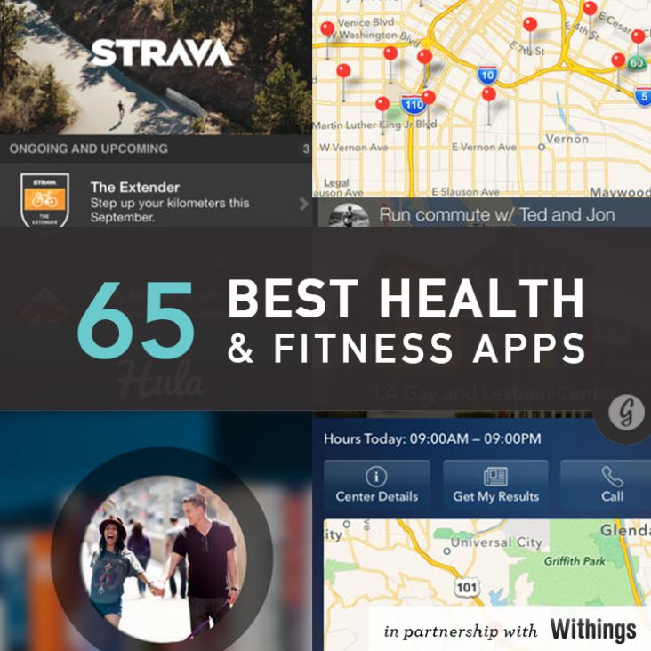 The 65 Best Health and Fitness Apps of 2014