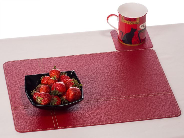 Placemats U2013 Red Placemat, Table Mat, Table Mat, Placemat U2013 A Unique Product
