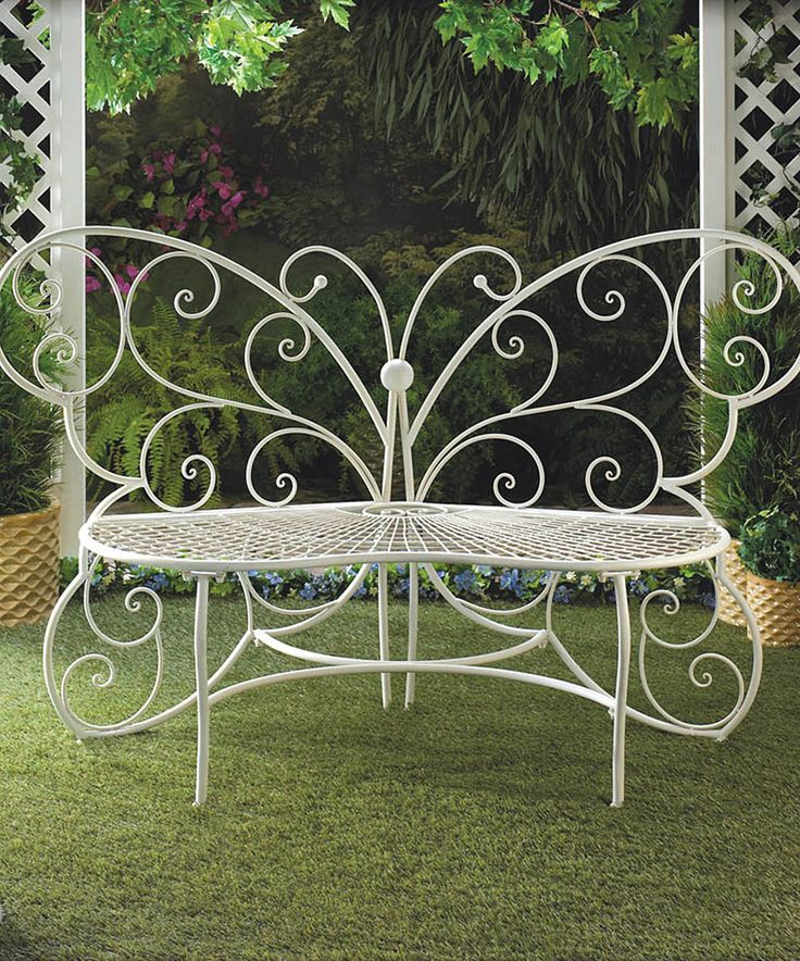Take A Look At This Butterfly Garden Bench Today