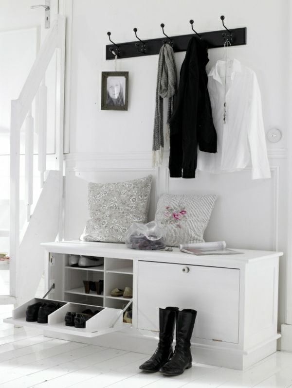 die 25 besten ideen zu flur gestalten auf pinterest. Black Bedroom Furniture Sets. Home Design Ideas